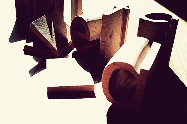 Wood Type Helvetica