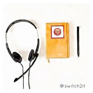 headphones & notes