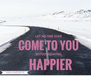 leaving happier