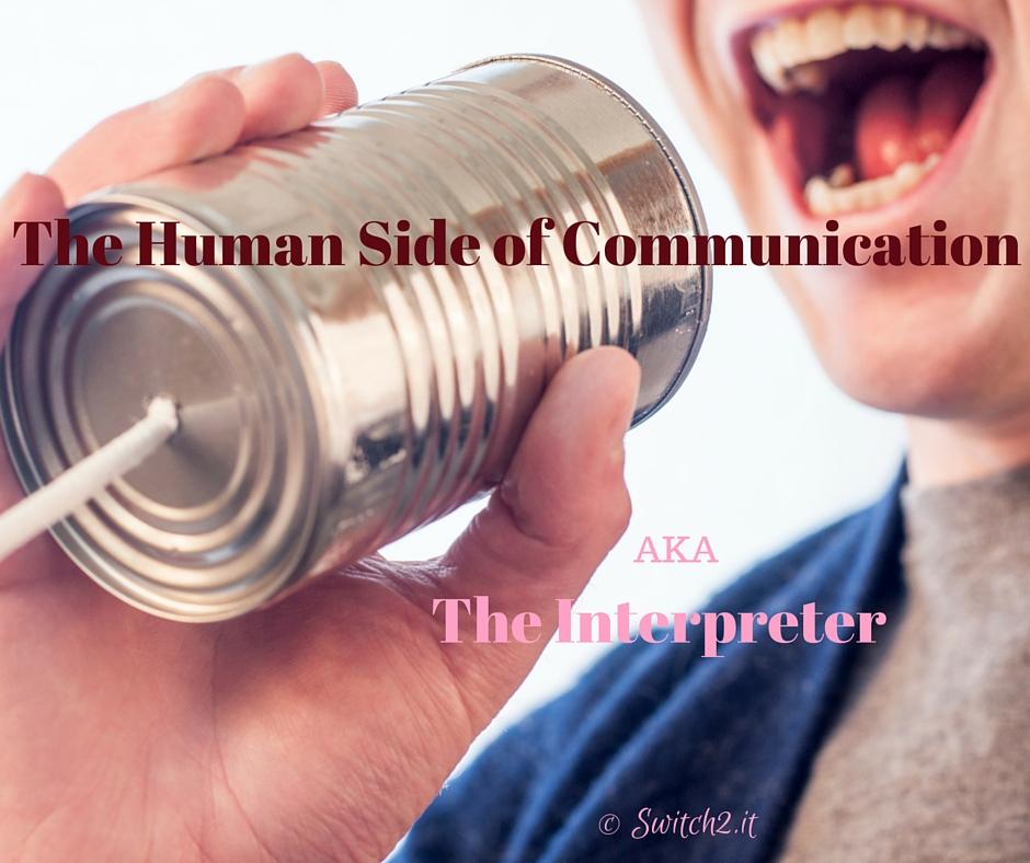 human side of communication
